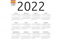 Calendario días festivos 2022